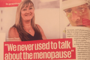 Menopause is no longer taboo in Severn Trent