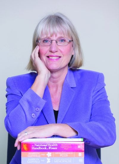 Dr Marilyn Glenville, nutritionist and menopause expert