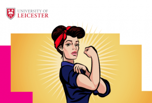 Uol menopause policy launch poster - Rosie the Riveter