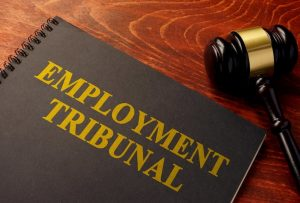 Employment tribunals - front cover of law book