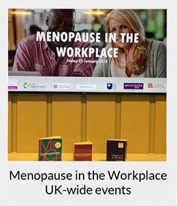 Menopause training at work - menopause in the workplace event
