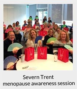 Menopause training at Severn Trent