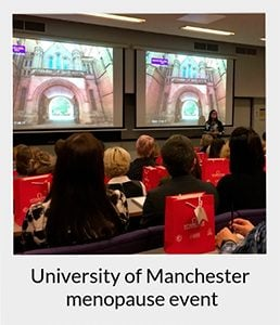 menopause training at University of Manchester