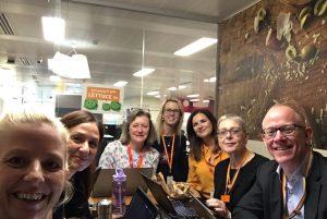 Menopause at work - team Sainsbury's