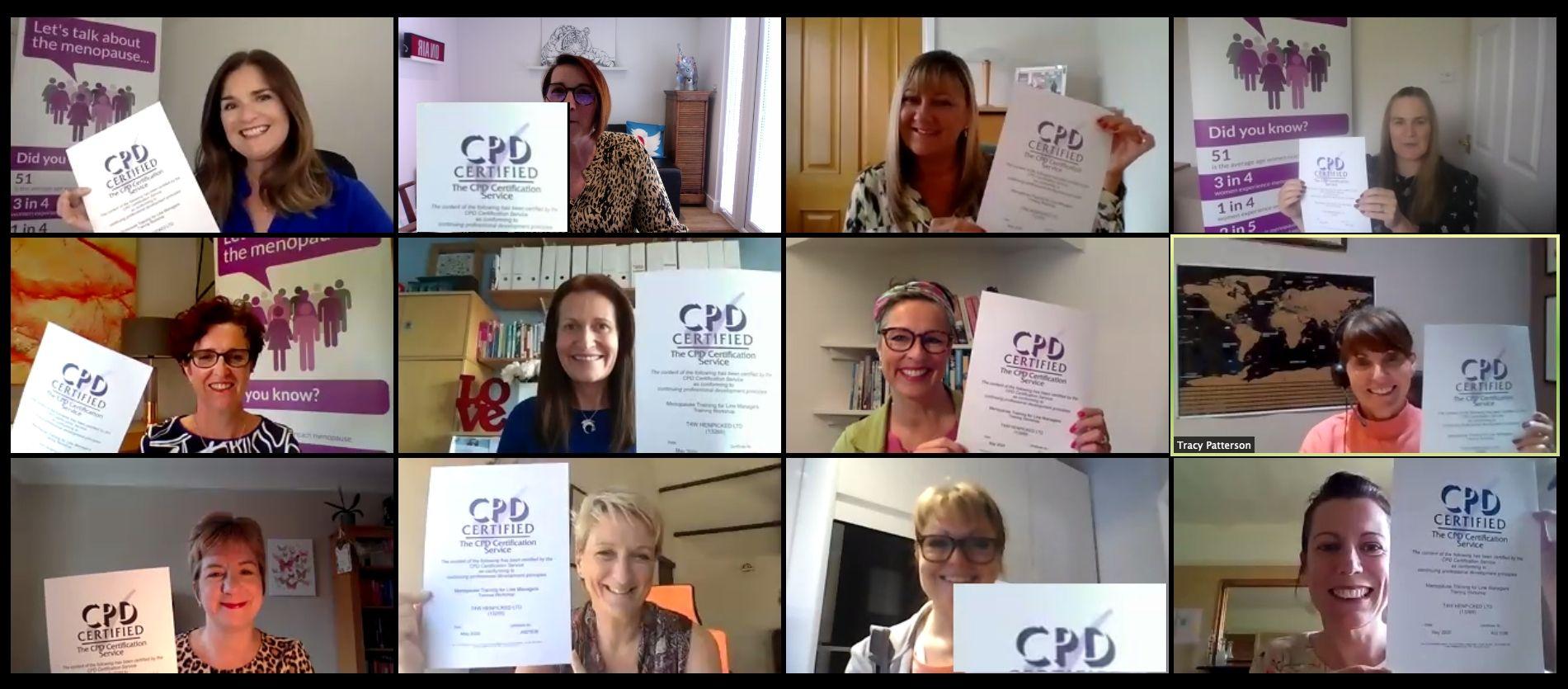 menopause, training, CPD Accreditation