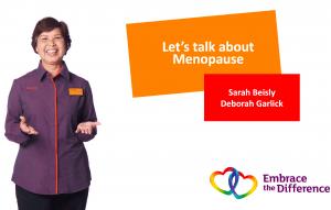 talking about menopause, Menopause at work, menopause, Sainsburys