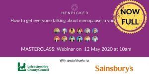 menopause, menopause at work, case studies, Sainsburys, Leicestershire County Council