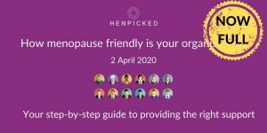 menopause in the workplace webinar, menopause at work